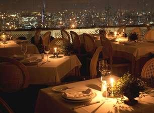Charme e boa comida marcam restaurante mais alto de SP
