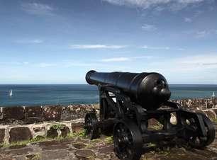 Fortes históricos contam histórias de batalhas caribenhas