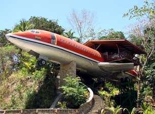 Hotel na Costa Rica tem suíte construída dentro de um avião