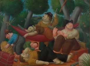 Museu reúne boa parte da produção de Fernando Botero