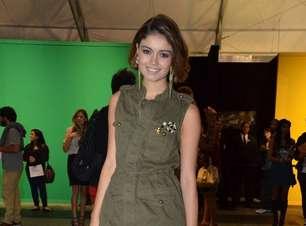 Famosos prestigiam Fashion Rio; veja fotos