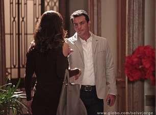 'Salve Jorge': após fora de Théo, Lívia diz a Érica que ele sai com prostituta