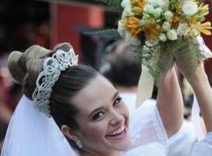 'Malhação': Juliana Paiva grava cenas do casamento de Fatinha