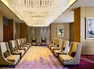 Ilha artificial e LED: conheça hotel chinês que custou US$ 1,5 bilhão