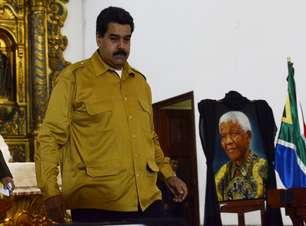Em missa, Maduro presta homenagem ao 'anjo negro' Mandela