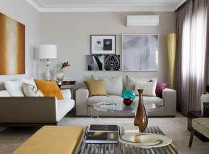 Reformado do zero, apartamento conquista casal de clientes