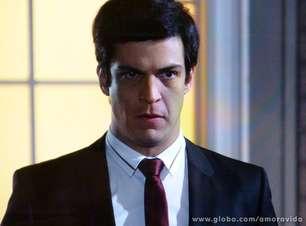 'Amor à Vida': ao lado de Paloma, Félix tenta salvar César de Aline