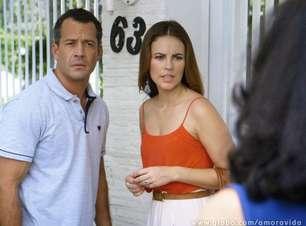 'Amor à Vida': Paloma e Bruno vão atrás do paradeiro de Mariah