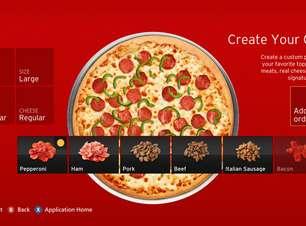 Gamers já gastaram mais de US$ 1 mi em pizza na Xbox Live