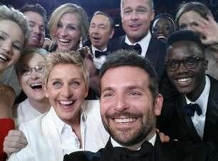 Ellen Degeneres para Oscar e faz selfie com astros; veja