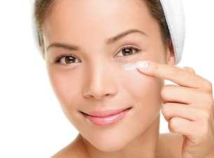 Cremes faciais não podem ser aplicados na área dos olhos