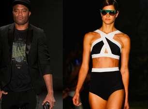 Anderson Silva e Osklen Praia marcam 1º dia do Fashion Rio