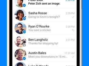 Facebook Messenger ganha envio de vídeos curtos