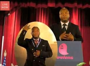Intérprete do funeral de Mandela vira porta-voz de startup
