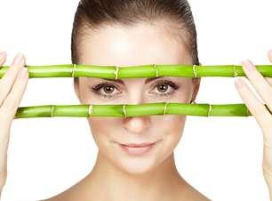 Pó de bambu asiático rejuvenesce e protege a pele do sol