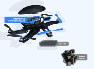Drone para filmagens aéreas arrecada mais de US$ 300 mil
