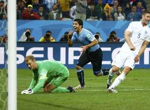 Veja fotos de Uruguai x Inglaterra
