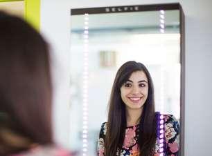 Agência digital inventa espelho que tira selfies