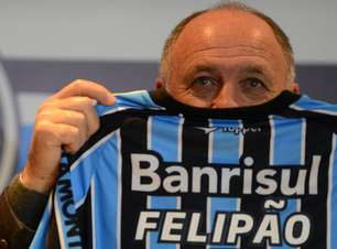 Veja fotos da chegada de Felipão ao Grêmio