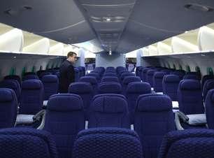 Estudo revela qual poltrona é a melhor para viajar em aviões