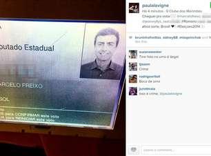 Paula Lavigne publica foto de urna com voto em Freixo no RJ