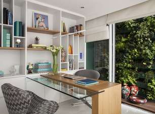 Home office pode ficar na cozinha e corredor; veja opções