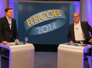 Veja frases do último debate entre Pezão e Crivella no RJ