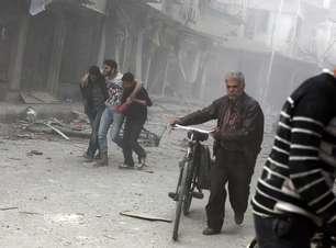 Bombardeios do regime sírio causam 182 mortes em uma semana