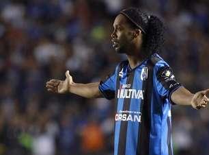 Punido, Ronaldinho deve sair do Querétaro em junho