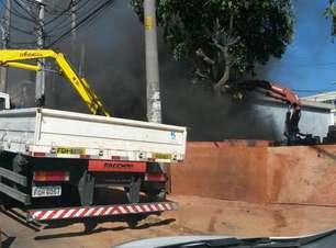 vc repórter: fumaça da Sabesp assusta motoristas em SP