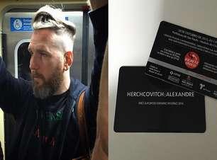 Táxi? Carro? Alexandre Herchcovitch vai de metrô ao SPFW