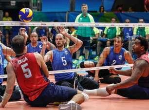 Brasil tropeça no Egito e sofre derrota no voleibol sentado