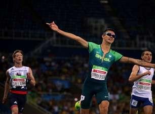 Brasileiro perde ouro no salto em distância no desempate