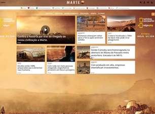 Neste domingo, dia 13, Terra vira Marte para promover série do National Geographic