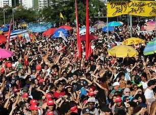 Após Rio, SP tem multidão nas ruas em ato por 'Diretas Já'