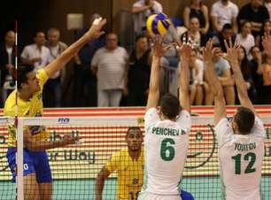 Brasil não resiste à Bulgária e perde a 2ª na Liga Mundial