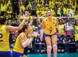 Brasil supera EUA e vai às finais do Grand Prix de vôlei