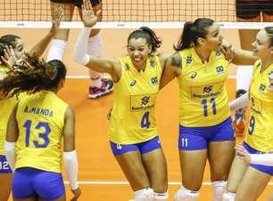 Brasil estreia na Fase Final do Grand Prix contra China