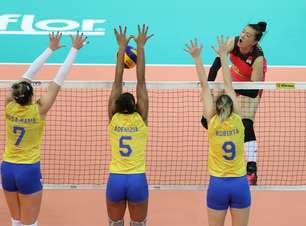 Brasil é dominado e perde da China na abertura da fase final
