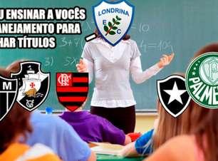 Londrina é campeão da Primeira Liga e memes bombam na web