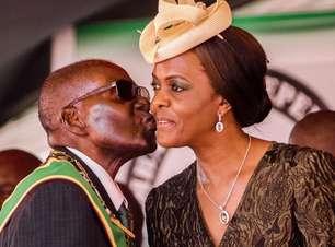 'Gucci' Grace Mugabe, a polêmica primeira-dama no centro da luta pelo poder no Zimbábue