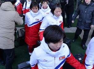 Atletas das duas Coreias se reúnem para Jogos de Inverno