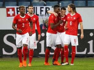 Adversária do Brasil na estreia, Suíça faz 6 no Panamá