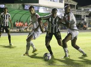 Vanderlei falha e Santos perde do Luverdense, mas classifica