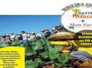 3ª Edição do Gastro Roça + Slow Farm