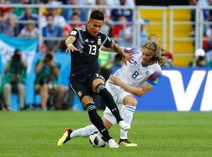 Confira as fotos de Argentina x Islândia pela Copa do Mundo