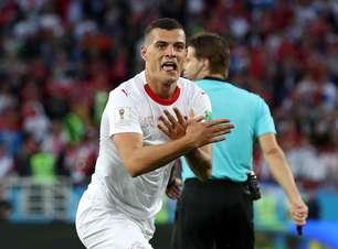 Albânia exalta homenagem dos jogadores suíços em comemoração