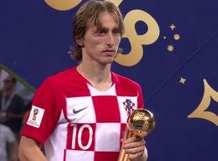 Modric é eleito o craque da Copa; Mbappé é a revelação