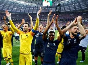 França bicampeã! Confira as fotos da comemoração na Copa