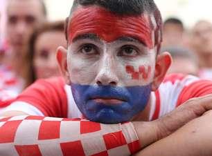 Copa: Final deixou croatas felizes e tristes ao mesmo tempo
